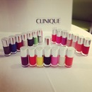 Clinique nail varnish!