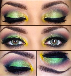I did a tutorial for this look. I used my morphs brushes palette in 35B