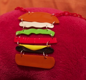 I Can Has Cheeseburger Necklace from Smarmy Clothes