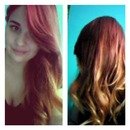 Red Ombre <3