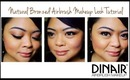 Natural Bronzed Airbrush Makeup Tutorial // Dinair Airbrushing // villabeauTIFFul