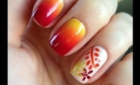 Mani-Monday: Gradient Floral Nails