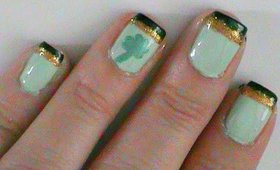 St. Patrick's Day Lucky Irish Nail Art Tutorial