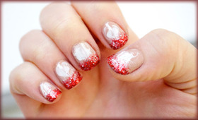 Peppermint Mocha Nails