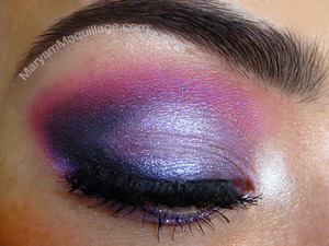 Plummy Purple and Pink Prom look. All info and tutorial is up on my blog: http://www.maryammaquillage.com/2012/04/prom-queen-2012.html