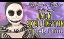 Jack Skellington Body Paint Cosplay Tutorial- Nightmare Before Christmas- (NoBlandMakeup)