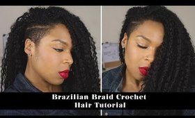 Natural Hair Protective Style | Crochet Braid Tutorial using the Invisible Knot Method