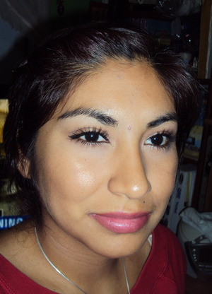 Everyday neutral look for school. And loving covergirl lash blast mascara!