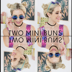 My amazingly '90s mini buns - find out how to create them here: http://bit.ly/1n3Kht7