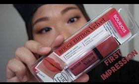 Bourjois Rouge Edition Velvet | First Impression
