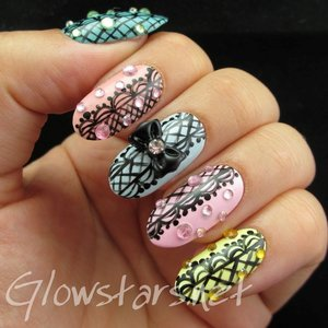 Read the blog post at http://glowstars.net/lacquer-obsession/2014/08/nail-max-collections-vol-10-design-colorful-139/