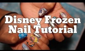 Disney Frozen Nail Tutorial