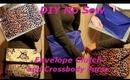DIY No Sew Envelope Clutch and Cross Body Purse