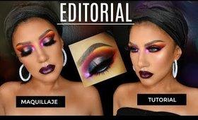 Maquillaje de EDITORIAL para Maqullilladores   auroramakeup