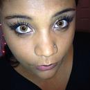 My eyelashes.