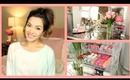 My Makeup Collection ♡ What's On My Vanity! - ThatsHeart
