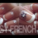 Easy French tip Nail