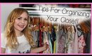 Spring Cleaning - Tips For Cleaning Up And Organizing Your Closet