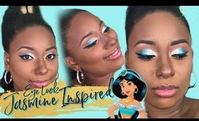 Disney Princess Jasmine Inspired Makeup Look Too Faced ABH Fenty Beauty || Vicariously Me