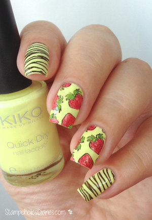http://stampoholicsdiaries.com/2015/05/15/strawberry-nails-with-kiko-born-pretty-and-essence/