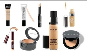 THE BEST CONCEALERS 2012 - FROM DRUG STORE TO HIGH END!