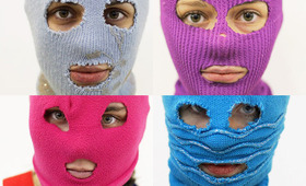 Beauty Riot! Makeup or … Ski Mask?