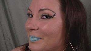 Fun with Mint Green Lips...