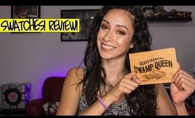 Grav3yardgirl x Tarte Swamp Queen Palette || Swatches and Makeup Review