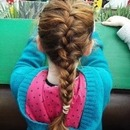 simple French plait