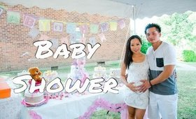 [VLOG] Our Baby Shower