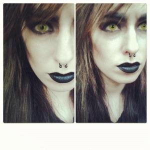 Werewolf inspired look