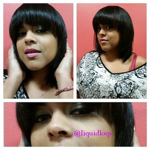 Cut, straightened, and styled...no relaxer needed... for booking visit www.styleseat.com/tatianawilson