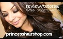 Review/Tutorial- Big, Full, Hair with Extensions (PrincessHairShop.com)