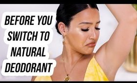 SWITCHING TO NATURAL DEODORANT WAS THE BEST DECISION | AMANDA ENSING
