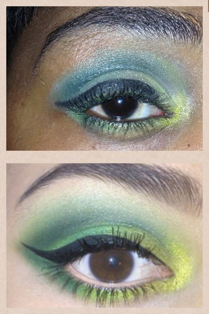 I tried to recreate this look I'm still learning how did I do for a beginner