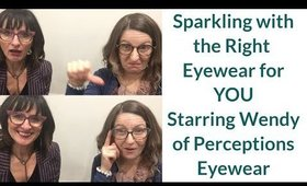 Shopping for Eyewear in Your Colours and Style With Wendy of Perceptions Eyewear | Colour Analysis