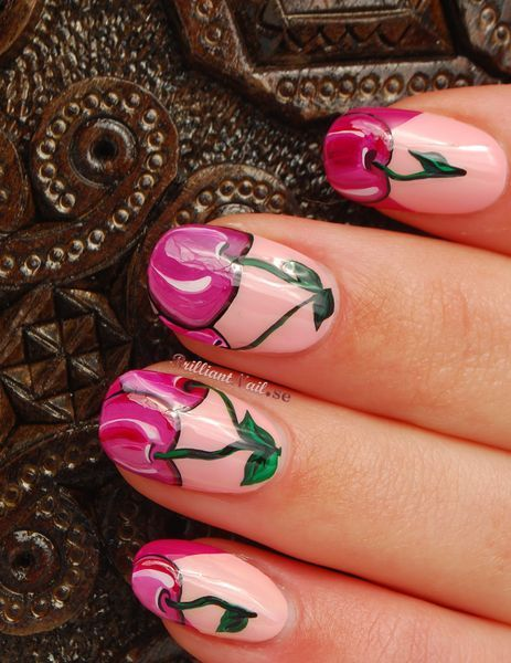 Delicious Nail Designs: Delicious Cherries Nail Art