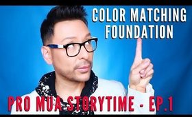 Pro MUA Storytime - 👨🏼‍🎨💞💄 Color Matching Foundation | mathias4makeup