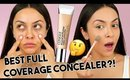 CLINIQUE BEYOND PERFECTING SUPER CONCEALER FIRST IMPRESSION! Is it FULL coverage?! - TrinaDuhra