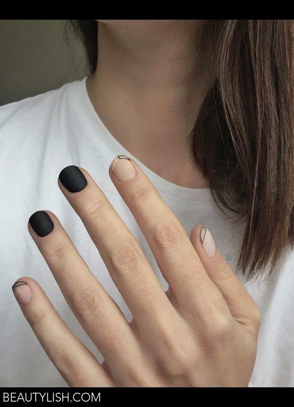 Minimal Nail Art Oksana Oblap Os Photo Beautylish