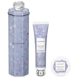 JILL STUART Beauty Dreamy Stars Gift Body Cream & Hand Cream White Floral