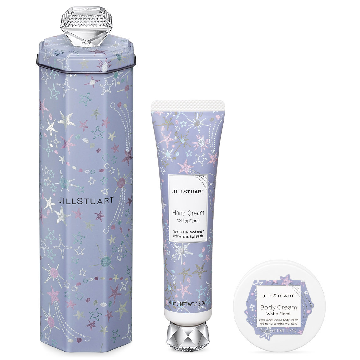 JILL STUART Beauty Dreamy Stars Gift Body Cream & Hand Cream White Floral alternative view 1 - product swatch.