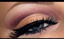 Natural plum cut crease look / make-up tutorial / Wedding bridal make up (Re-upload)