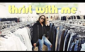COME THRIFT WITH ME 2019 + THRIFTED HOME DECOR HAUL | Nastazsa