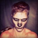 First Skull Makeup