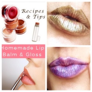 Add Vaseline n eyeshadow mix together n you have a sexy lipstick..