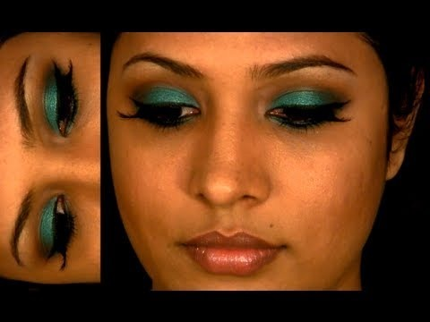 Makeup for olive skin and green eyes