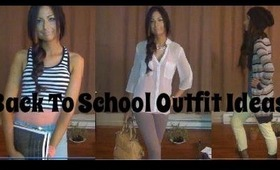 Back To School Outfit Ideas♥ RonaBrookeMoore