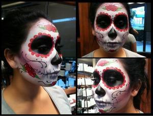 sugarpskull makeup by me