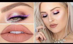 Candy Purple Liner & Glitter! ♡ Chit Chat Get Ready With Me
